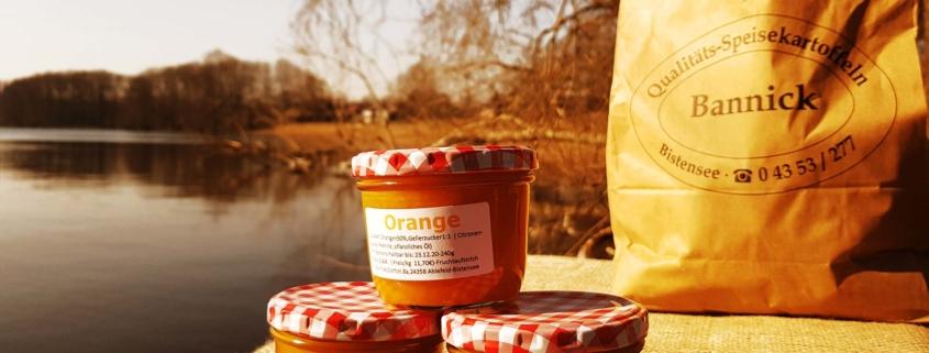 Fruchtaufstrich Orange
