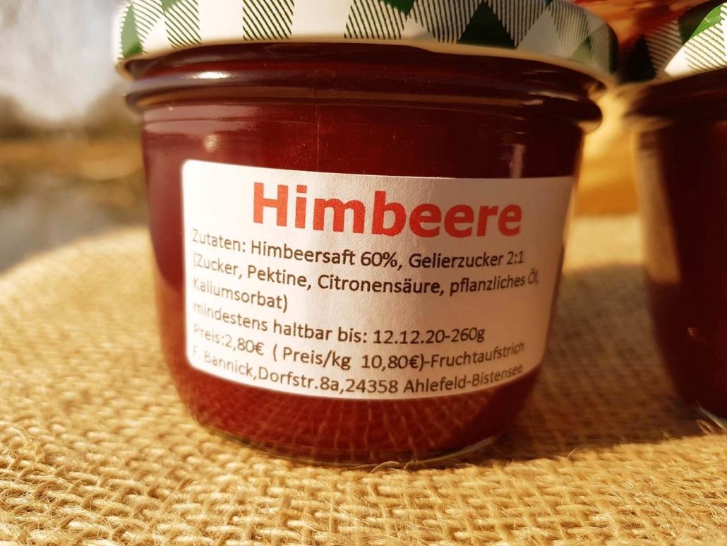 Himbeergelee